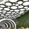 Passive vertical garden for new railway station in Gran Canaria