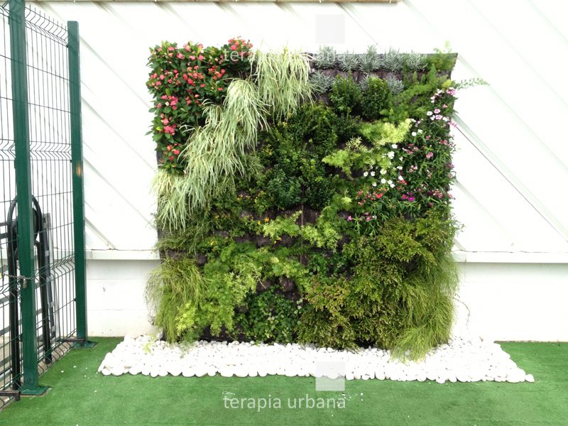 DIY GREENandFUN Living Wall System - the final productLiving Wall Diy